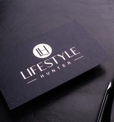 Black Business Cards 3.5x2 | Luxury Printing