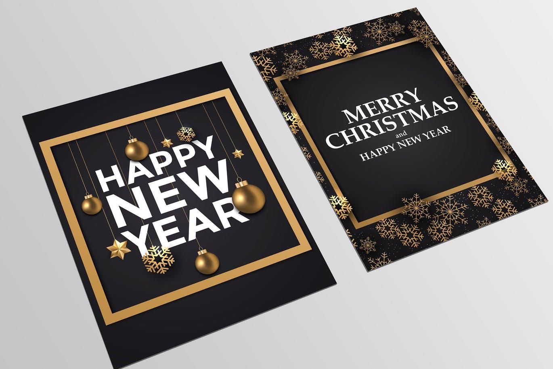 Happy New Year postcards | Luxury Printing